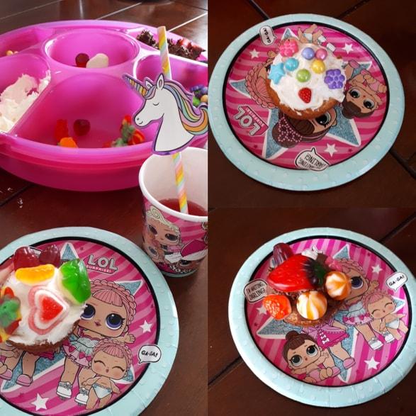 Cupcake à décorer idée fête enfants