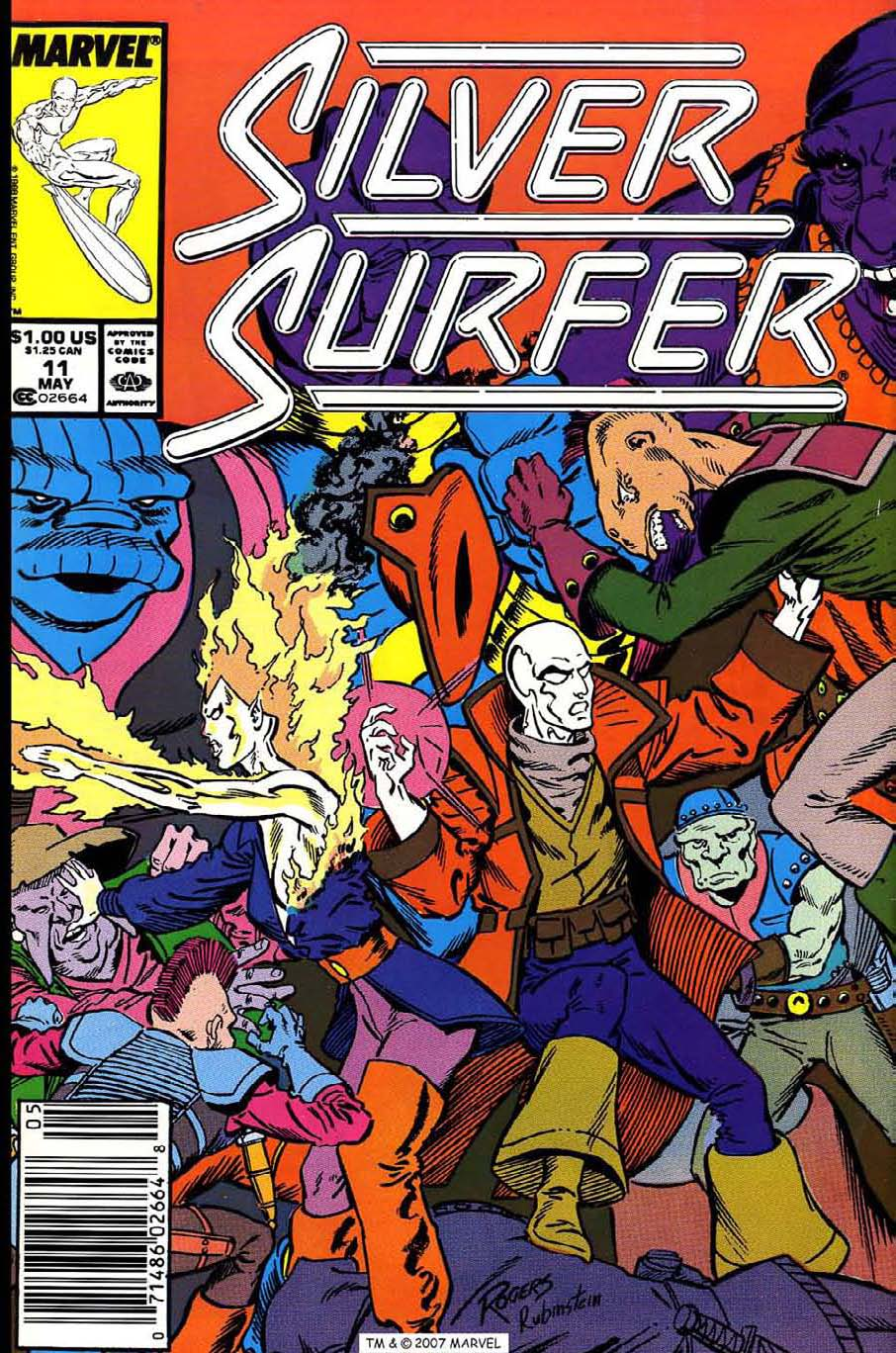 Read online Silver Surfer (1987) comic -  Issue #11 - 1