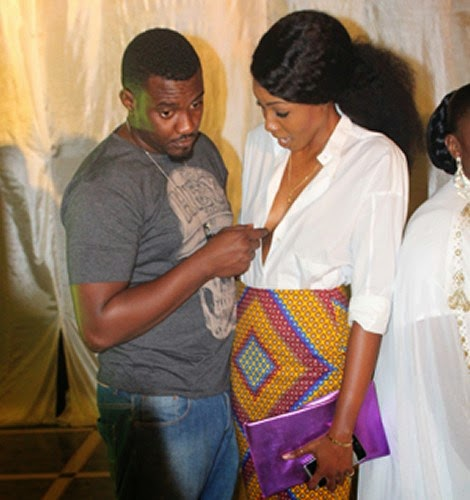 john Caught In The Act:  See Photo Of John Dumelo Touching Yvonne Nelson Bo*bs