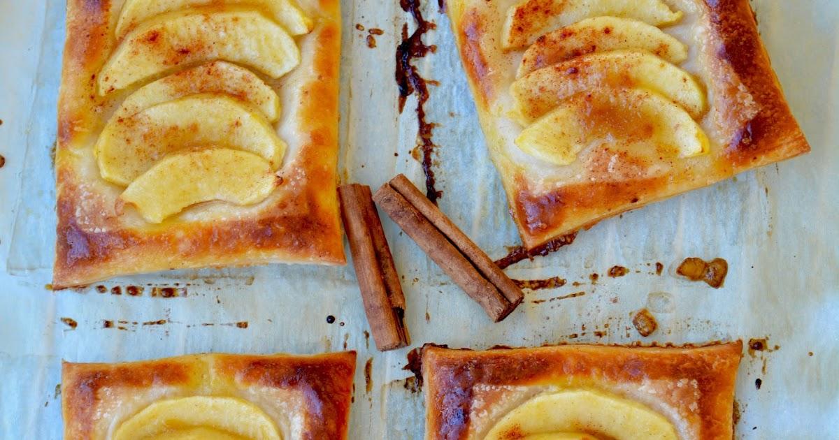 Sfogliatine alle mele e cannella senza glutine