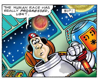 The Sunday Comics In Space