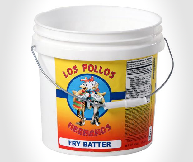 Pollos Hermanos Fry Batter Bucket