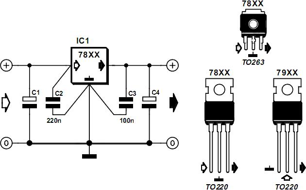 Electronic: Pozitif Gerilim Regülatörleri (78XX)
