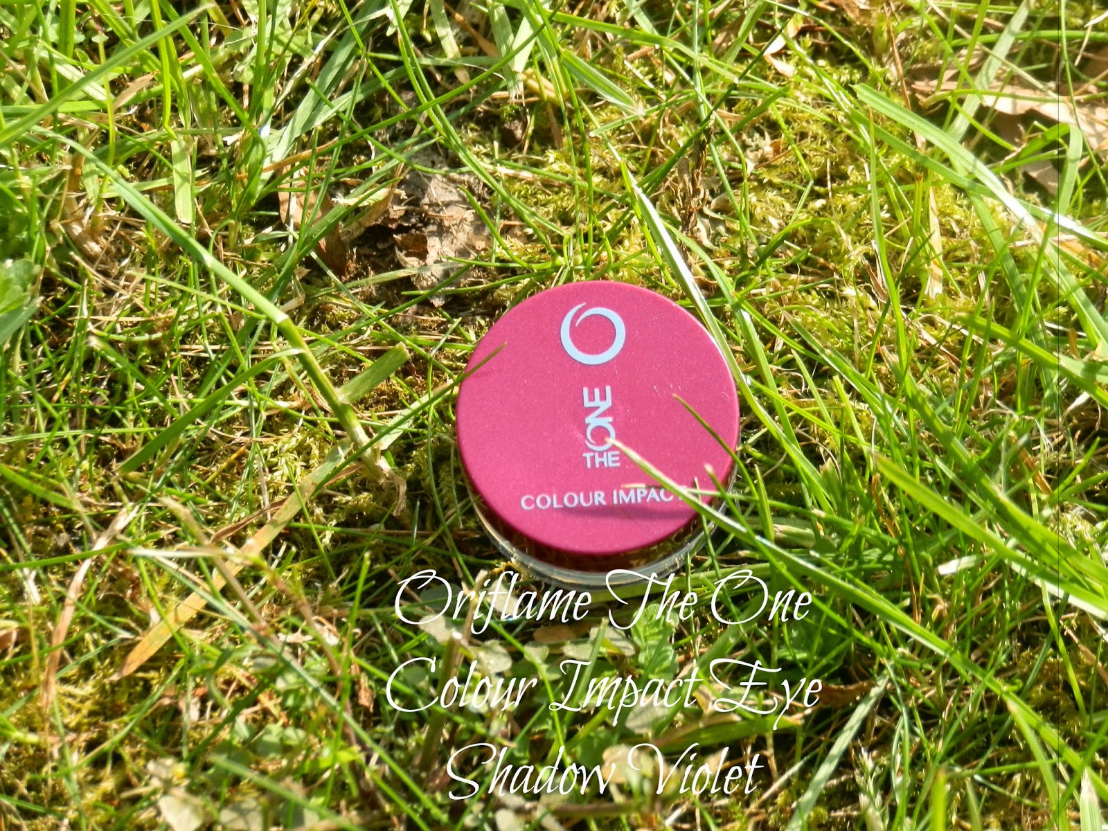 Oriflame The One Colour Impact Eye Shadow Intense Plum Swatches