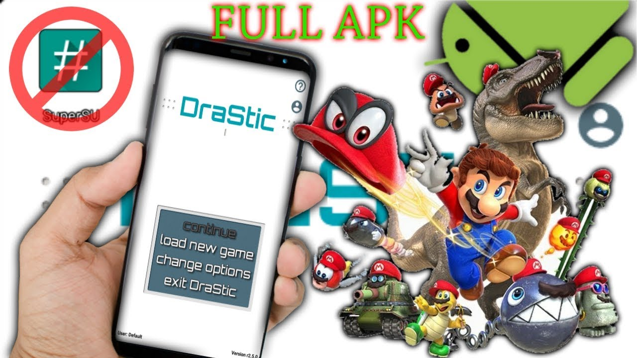 descargar drastic full apk 2018 no root