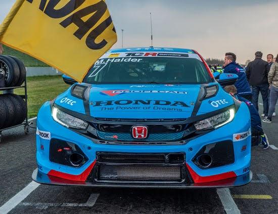Halder und Fugel 2019 wieder bei Team Honda ADAC Sachsen