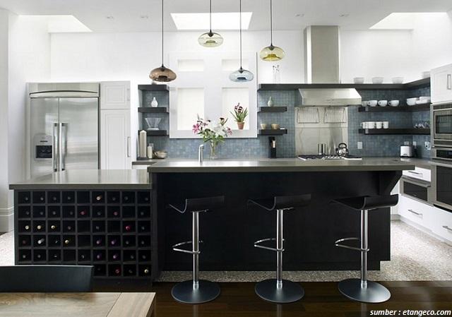 Bagian Lain Dari Rumah Minimalis Anda Yang Jarang Terjamah Orang Luar Seperti Dapur Pun Bisa Dilengkapi Dengan Jenis Lampu