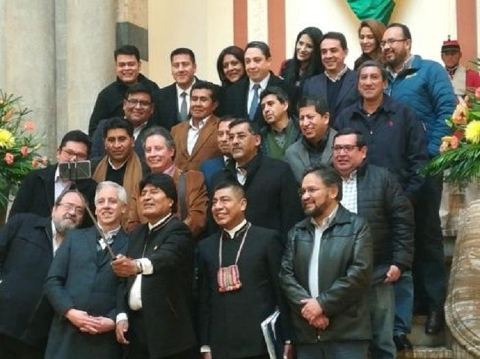 Morales, Garcia y sus ministros recibirán entre Bs 68 mil y Bs 65 mil en menos de 30 días / ARCHIVO WEB