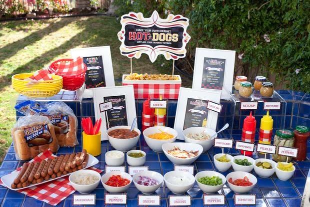 mesa cachorro quente