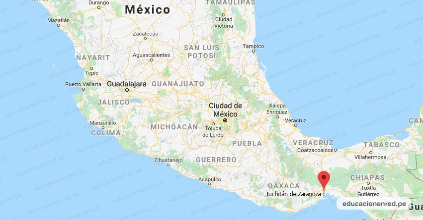 Temblor en México de Magnitud SIMO (Hoy Sábado 01 Agosto 2020) Sismo - Epicentro - Juchitán de Zaragoza - Oaxaca - OAX. - SSN - www.ssn.unam.mx