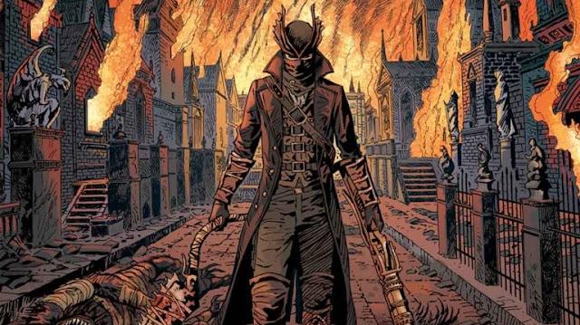 الإعلان عن سلسلة مجلات ورقية قادمة للعبة Bloodborne بعام 2018