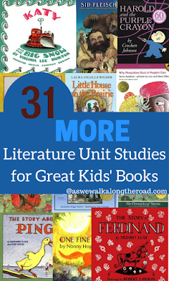 Kids literature unit studies