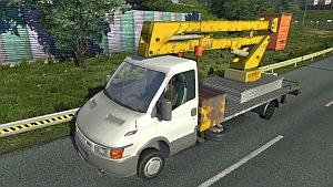 Iveco Service car for Ai traffic