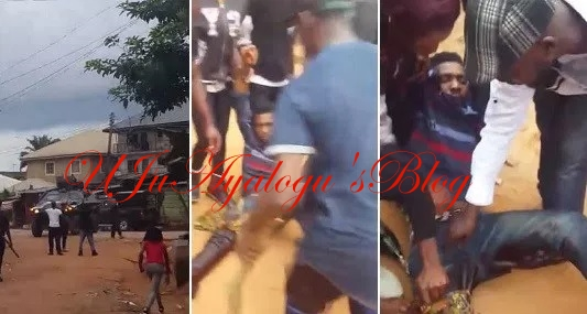 Nigerian army invade Kanu's home, allegedly shoot IPOB supporter (video)