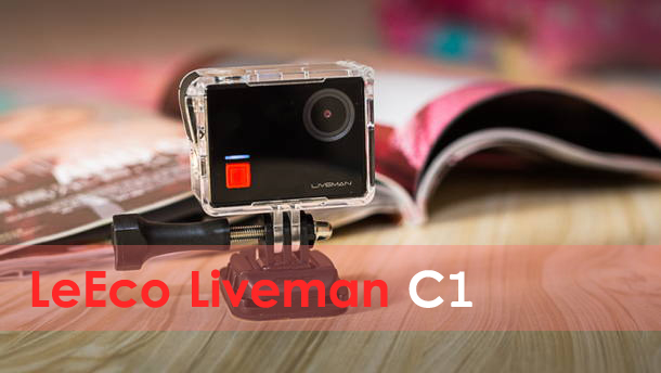 LeEco Liveman C1 Action Camera 4K@30fps