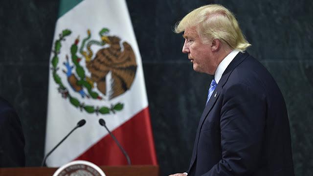 Trump y Peña Nieto discuten durante una hora sobre la construcción del polémico muro