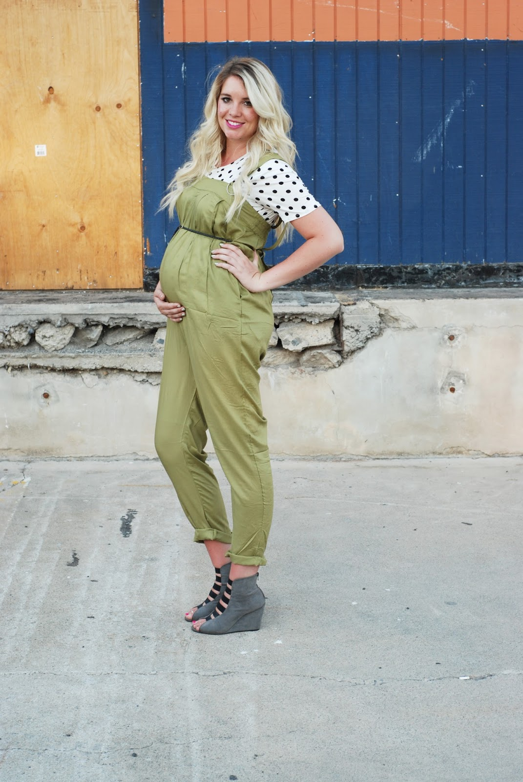 ASOS Maternity, Long Blonde Hair, Utah Fashion Blogger
