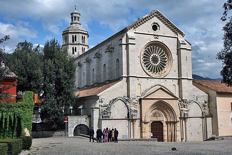 Cistercian abbey of Fossanova