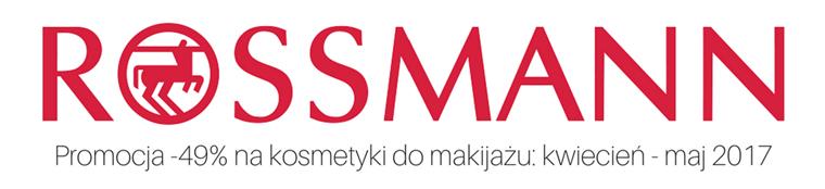 Rossmann -49% na kosmetyki do makijażu: Promocja kwiecień-maj 2017
