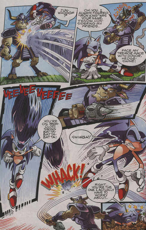 Read online Sonic The Hedgehog comic -  Issue #206 - 9