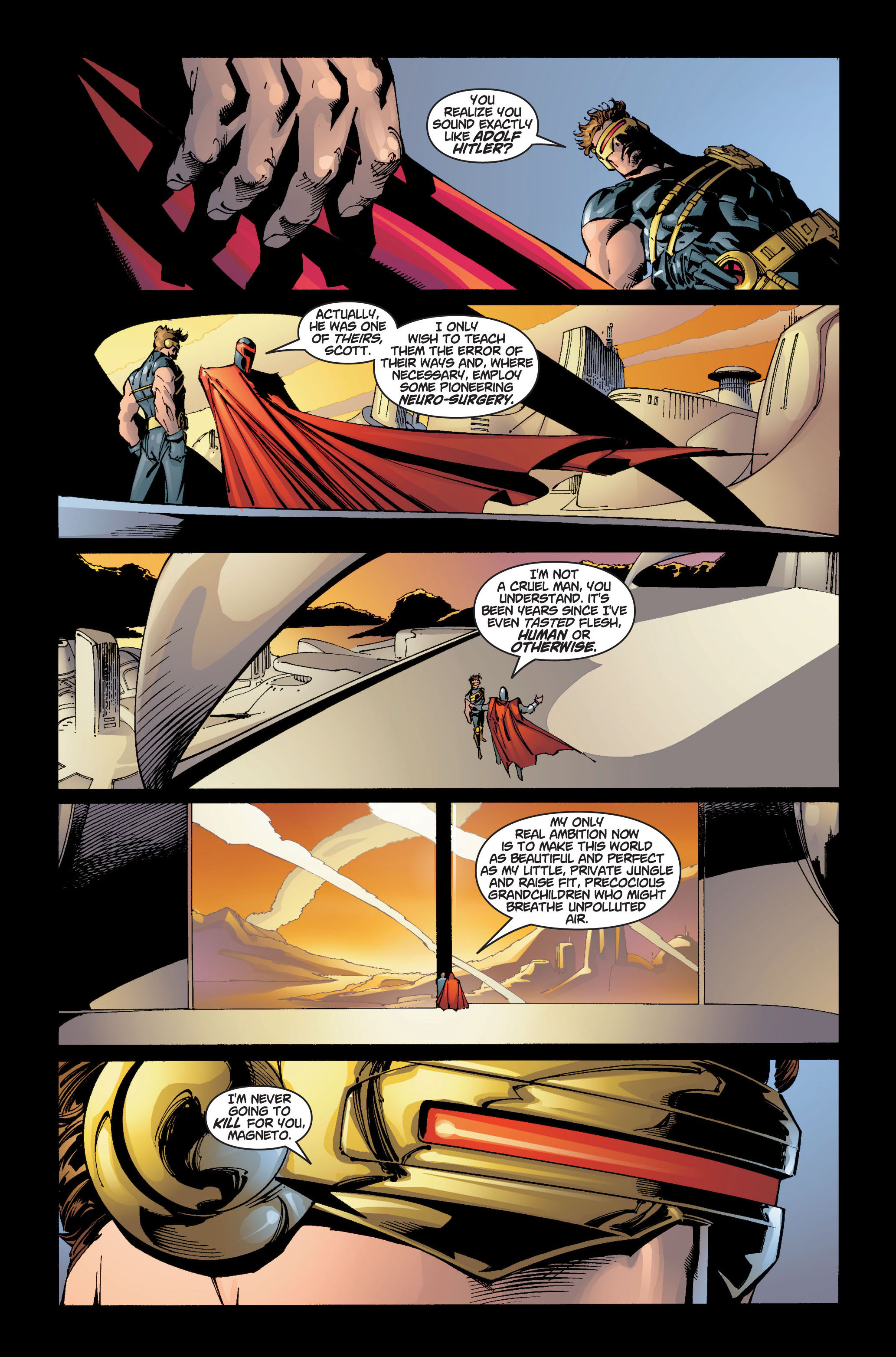 Read online Ultimate X-Men comic -  Issue #5 - 13