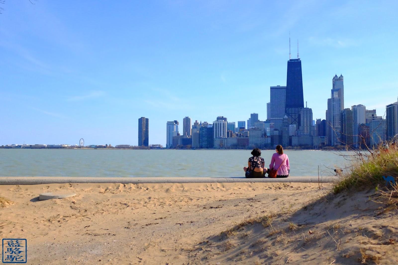 Le Chameau Bleu - Blog Voyage Chicago USA -  Plage de Chicago Que faire à Chicago
