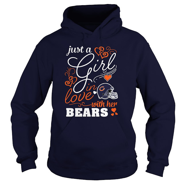 Chicago Bears - Just A Girl In Love With Her Shirt