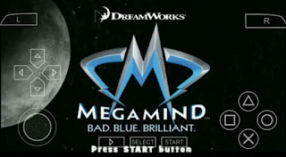 Megamind The Blue Defender ISO PPSSPP FOR ANDROID