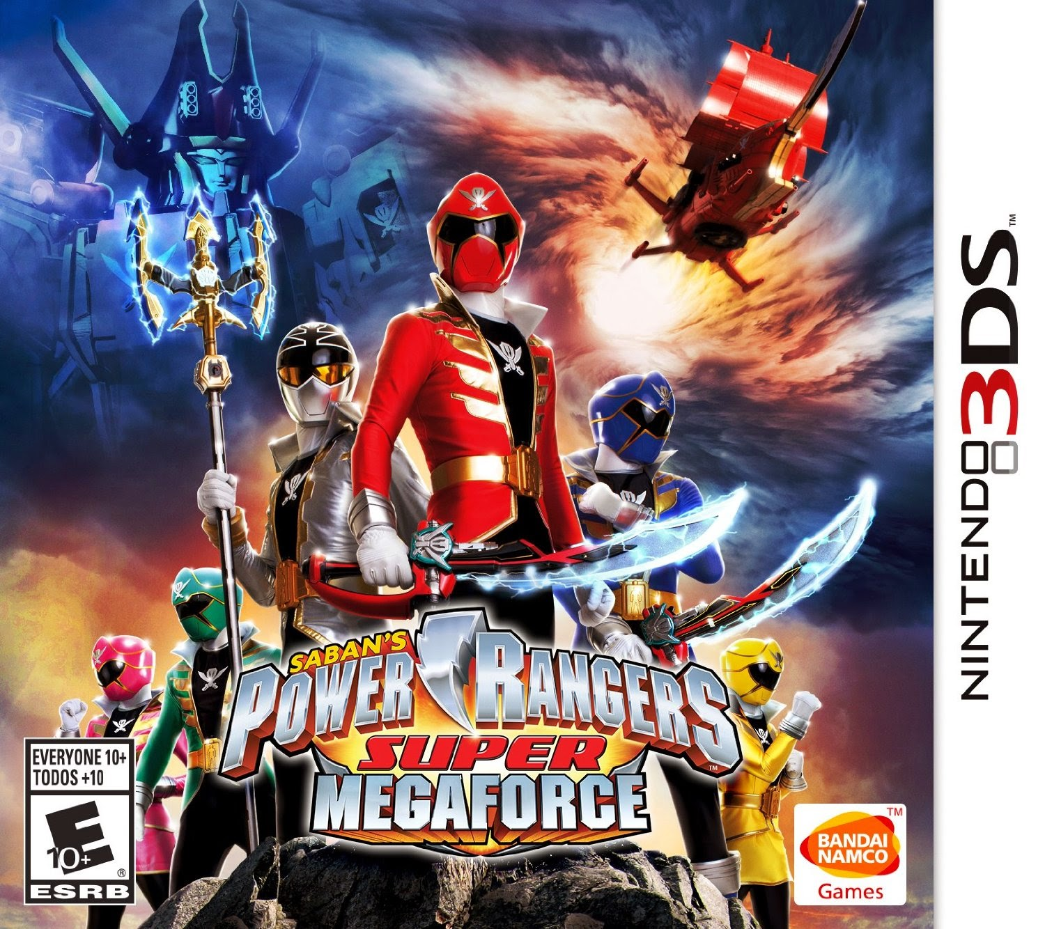 Power Rangers Super MegaForce - Nintendo 3DS