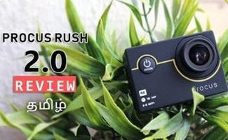 Procus RUSH 2.0 Action Camera (4K | WiFi) Review | Tamil Tech