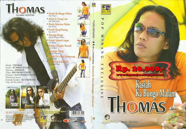 Thomas Arya - Kasiah Ka Bungo Malam (Album Pop Minang Exclusive)