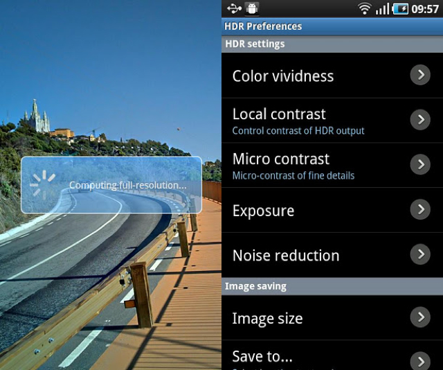 Best Mobile apps for photographers HDR Camera+