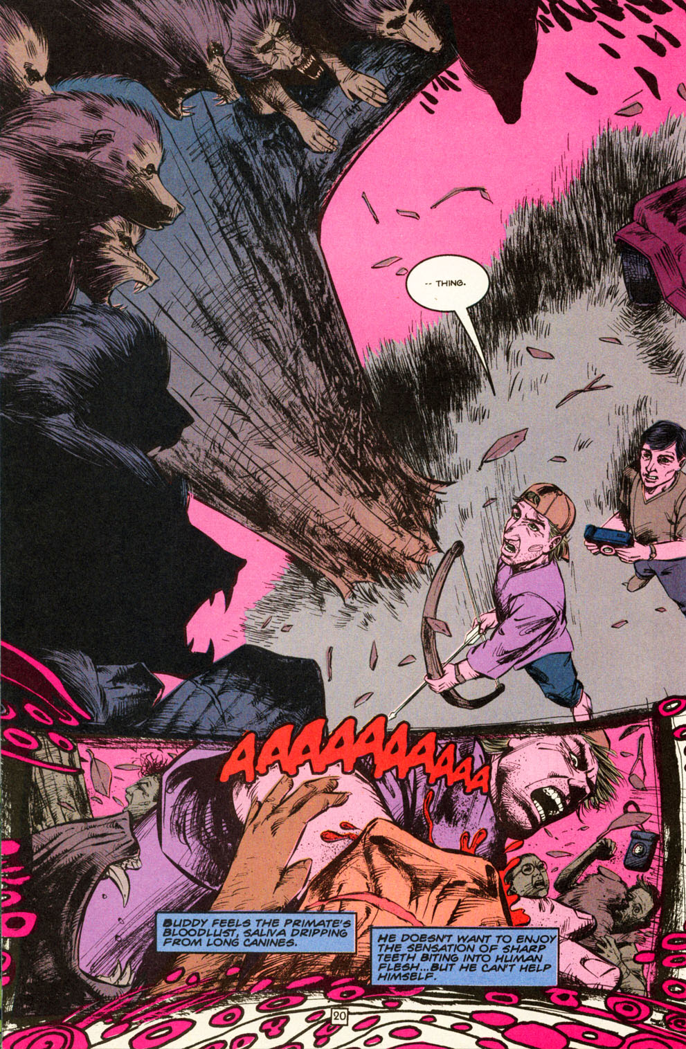 Read online Animal Man (1988) comic -  Issue #82 - 21