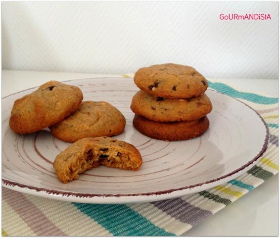 Batonnets Au Chocolat Et Aux Cacahuètes: GoURmANDiStA: Cookies Moelleux Au Beurre De Cacahuètes Et