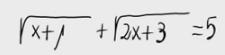 33. Ecuación irracional 4