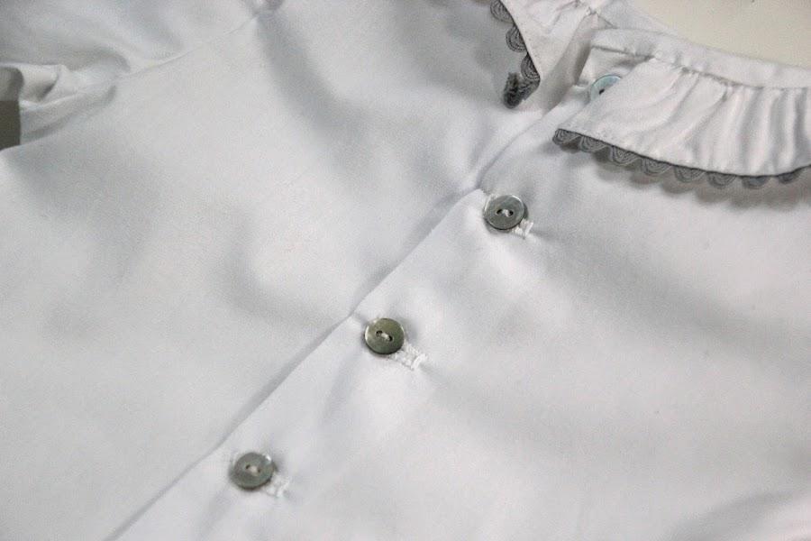 DIY Costura Blusa para bebé (patrón o moldes gratis)