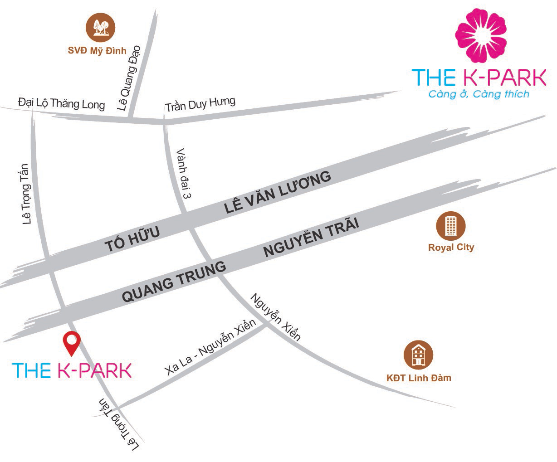 Chung cư The K Park Văn Phú (chỉ từ 1,1 tỷ/căn Full nội thất)