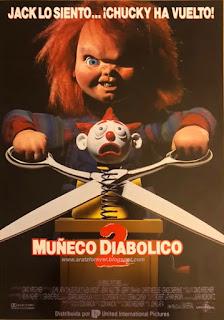 muñeco diabólico, tom holland, don machini, brad dourif, chucky