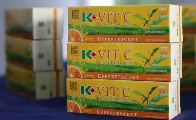 K-Vit C Plus Teavigo, Multivitamin Terbaik Dengan Dua Kekuatan Antioksidan