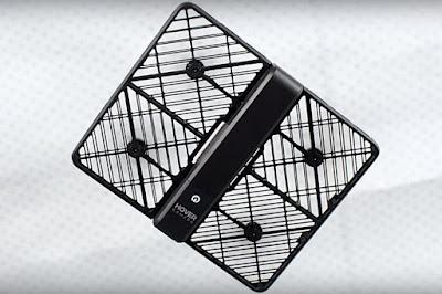Hover Camera / Drone Lipat Berkamera 13 MP Siap Diproduksi