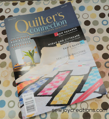 cover of spring quilters connection