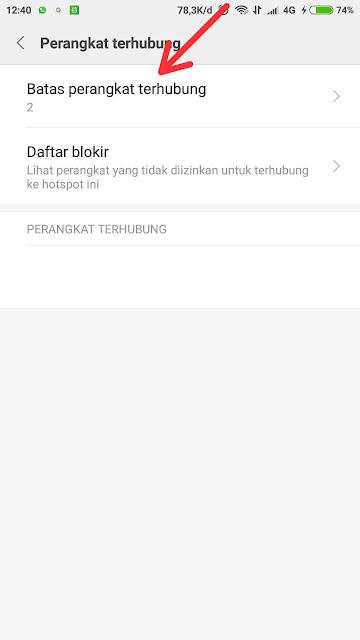 Cara Membatasi Pengguna yang Terhubung Hotspot Android