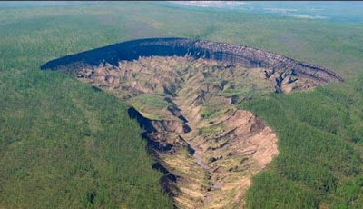 Kawah di Siberia Ini Makin Bertambah Besar Setiap Tahun