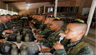 السر وجود هذه الموزه على رأس الجنون فى الجيش الصيني