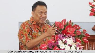 Gubernur Olly Resmikan Gedung Pastori GMIM RUT Suwaan Minut