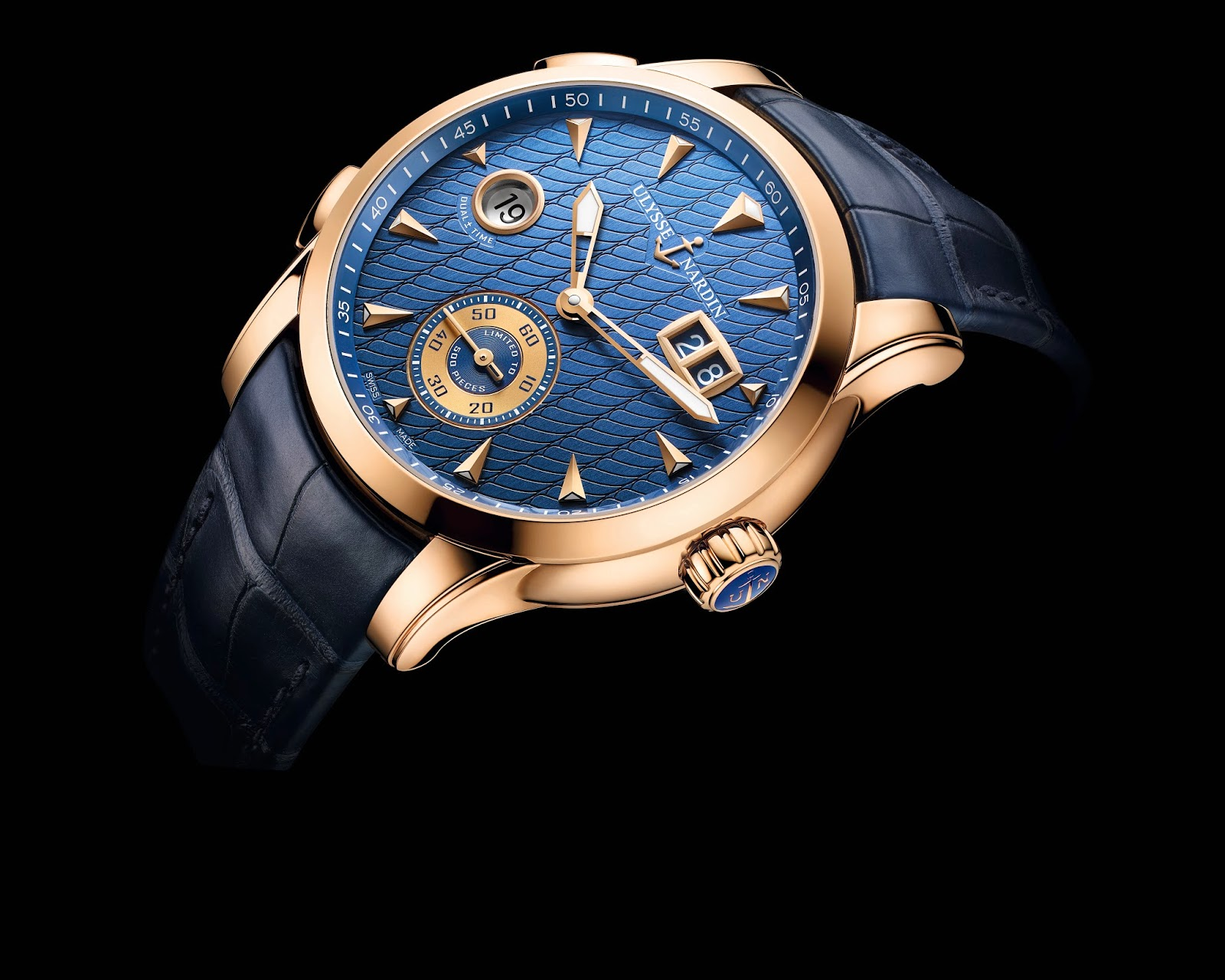 Ullysse Nardin Dual Time Manufacture2