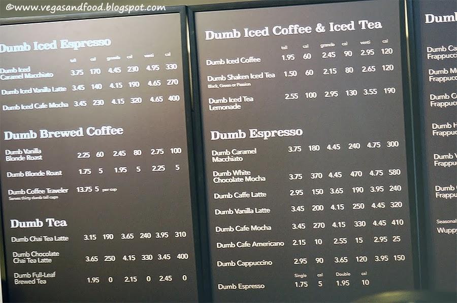 Dumb Starbucks Coffee - Los Feliz - Vegas and Food