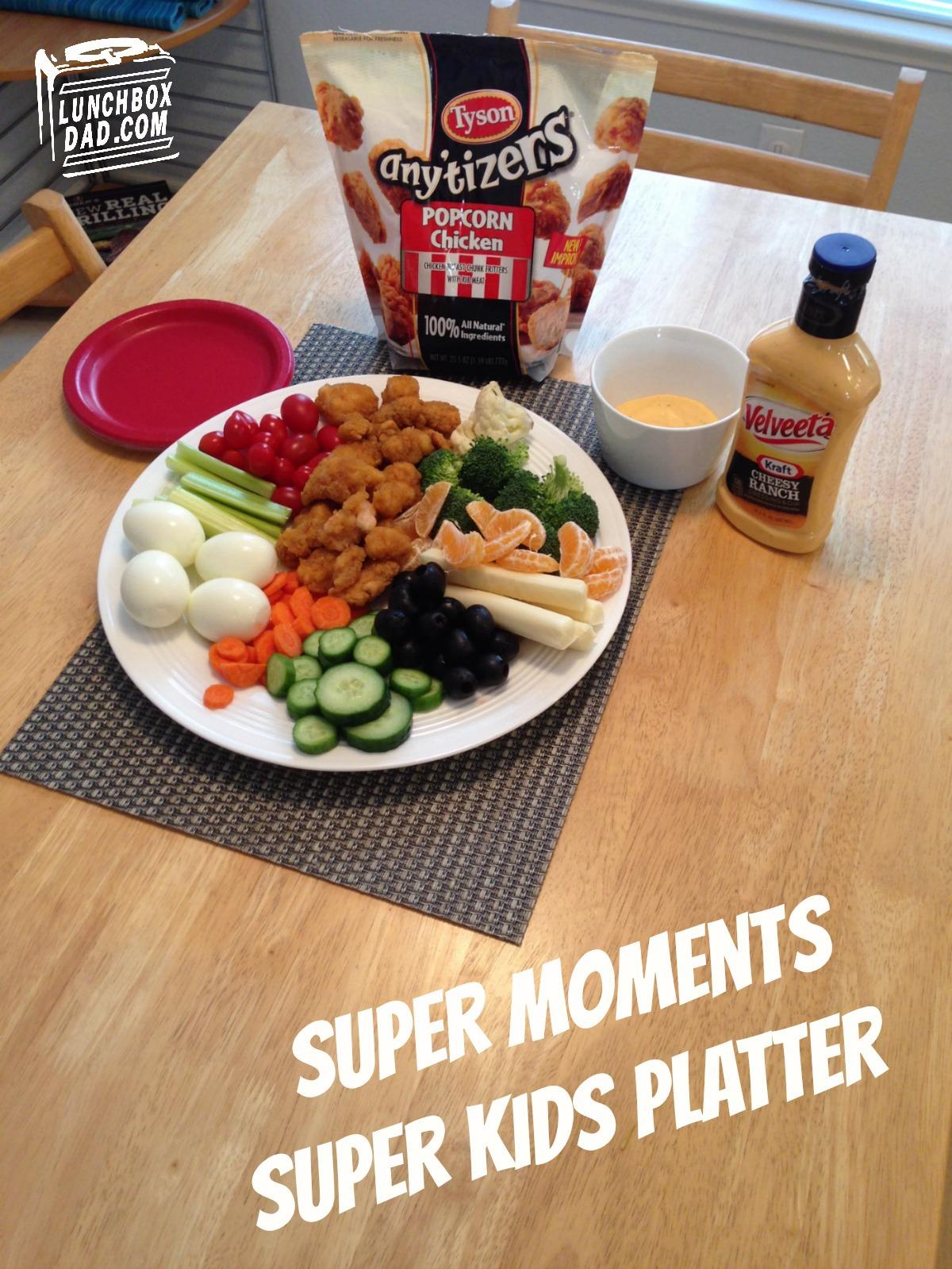 Tyson Super Moments Super Kids Platter #SuperMoments #ad #cbias