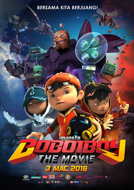 BoBoiBoy The Movie (2016) DVDRip Subtitle Indonesia