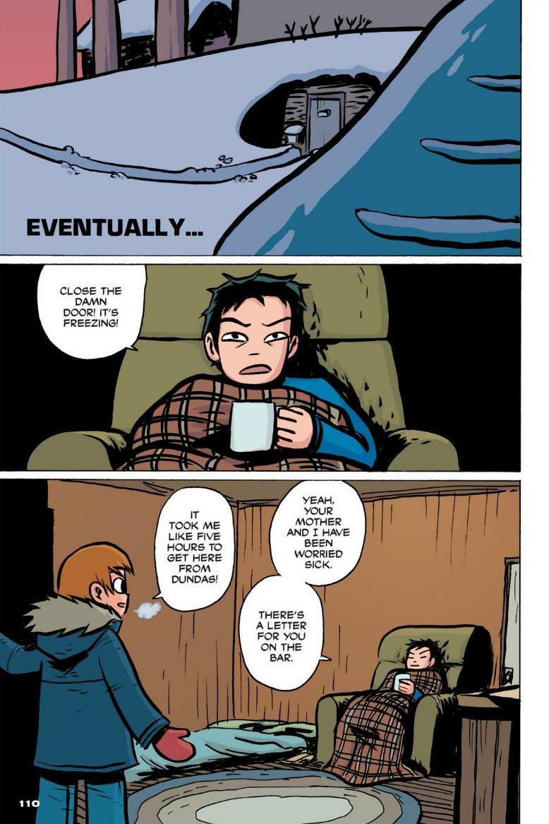 Read online Scott Pilgrim comic -  Issue #1 - 100